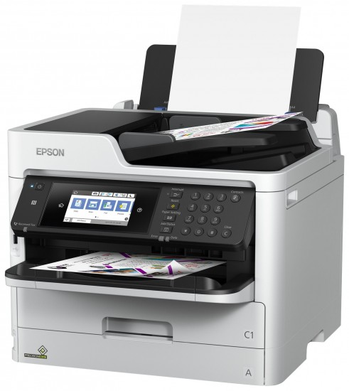 New Epson WorkForce Pro WF-C5000 Series Feature RIPS ...
