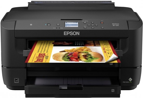 New Epson WorkForce WF-7210, WF-7710 and WF-7720 Wide-Format